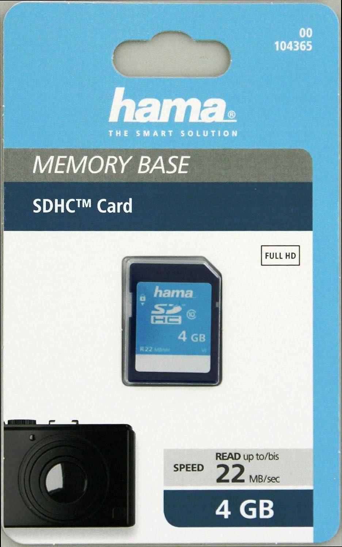 SD-2.0 Standard, Class 10, High Speed, Datensicherheit dank mechanischem Schreibschutz, Beschriftungsfeld Hama Speicherkarte SDHC 32GB