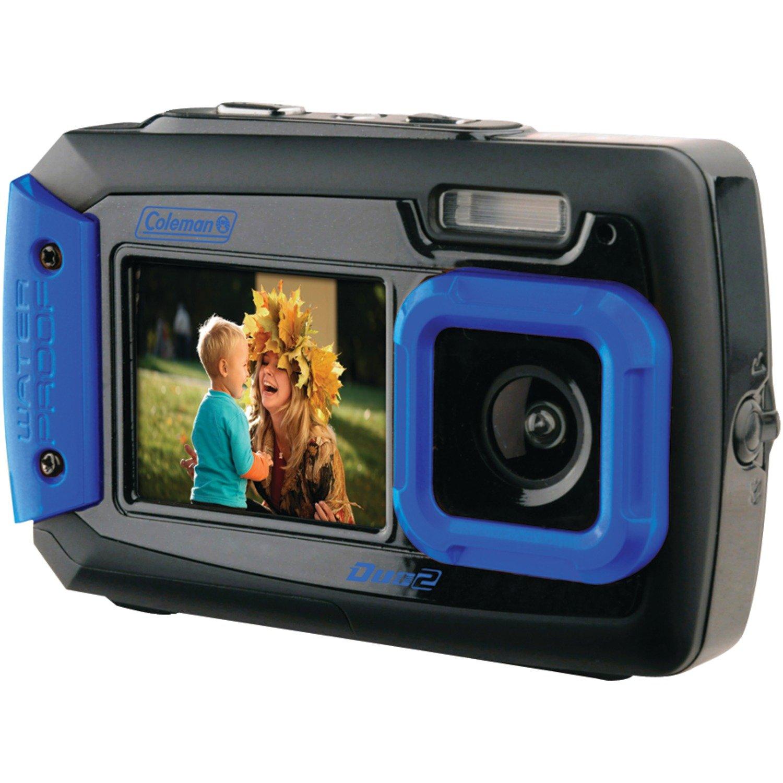 71%2BYznCa4FL._SL1500_ amazon com coleman duo2 2v9wp bl 20 mp waterproof digital camera  at fashall.co