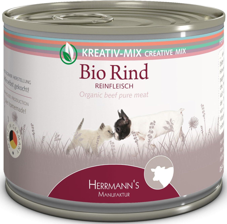 Herrmanns Bio Rind 100 %, 12 Unidades (12 x 200 g)