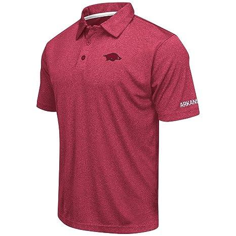 e578870fc Amazon.com: Mens Arkansas Razorbacks Short Sleeve Polo Shirt - S ...