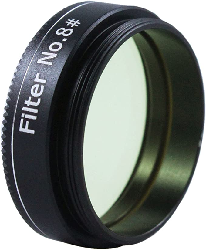 #8 Yellow Astromania 2 Color//Planetary Filter for Telescope