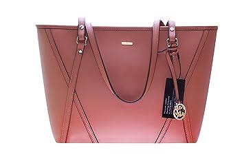 52caa07965b3c Stella Maris Damen Handtasche Henkeltasche Schultertasche Fashion Shopping  Bag aus Leder Beige   Rosé mit Diamant