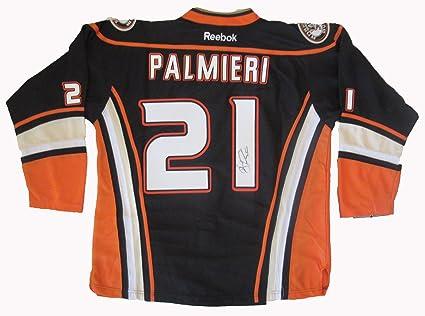 brand new 54916 1e5e0 Kyle Palmieri Autographed Anaheim Ducks Jersey W/PROOF ...