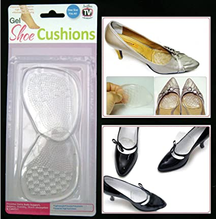 Anti-slip Gel High Heel Shoes Cushions Liner Grip Foot Care Inserts Insole Pad