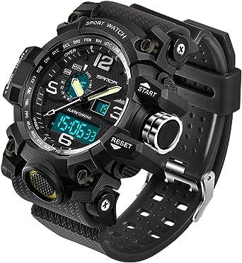 Amazon.com: Relojes de los hombres Militar Deportes ...