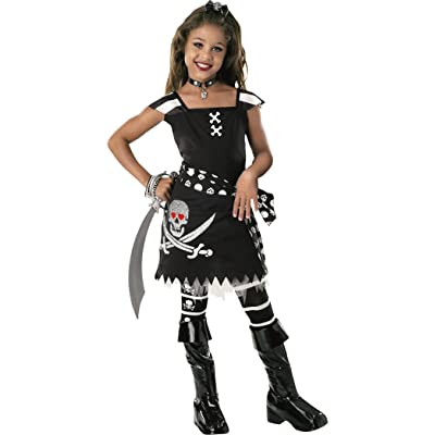 Drama Queens Child's Scar-Let Costume, Medium: Toys & Games