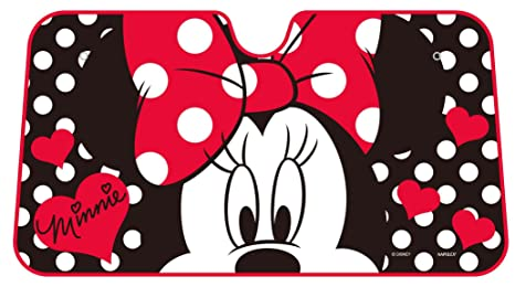 Image Unavailable. Image not available for. Color  Disney Dot Minnie Mouse  Windshield Front Car Sun Shade f4d5739cff4