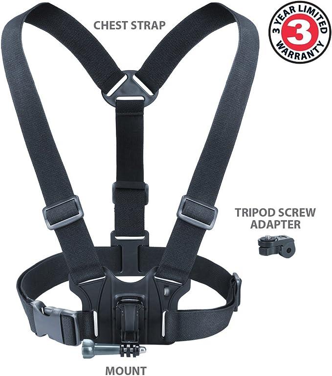 Chesty Supporto cinghia petto tracolla per GoPro HD HERO Motorsport Helmet SURF