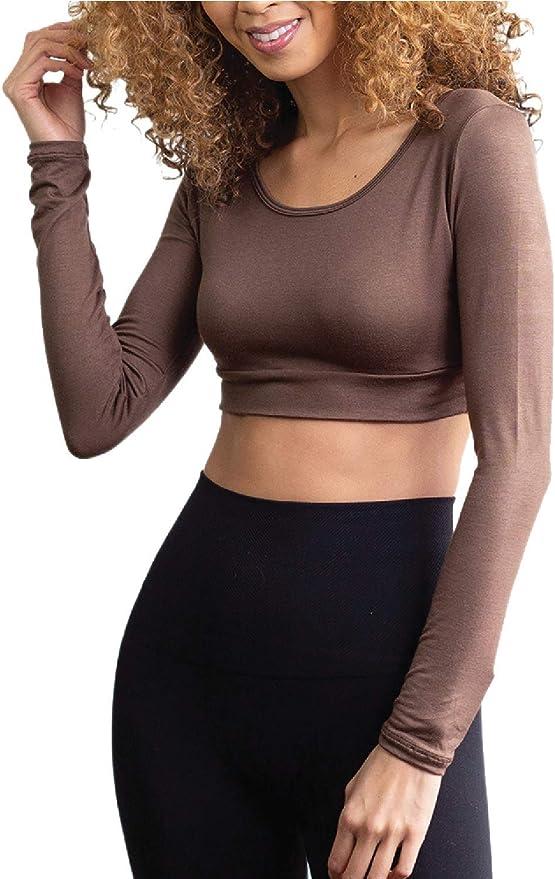 Cute Crop Top Demi Cami for Women /& Teens HT HALFTEE Tank Layering Tee
