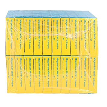 Magnesio verla N dragees, 20 x 50 ST: Amazon.es: Salud y cuidado personal