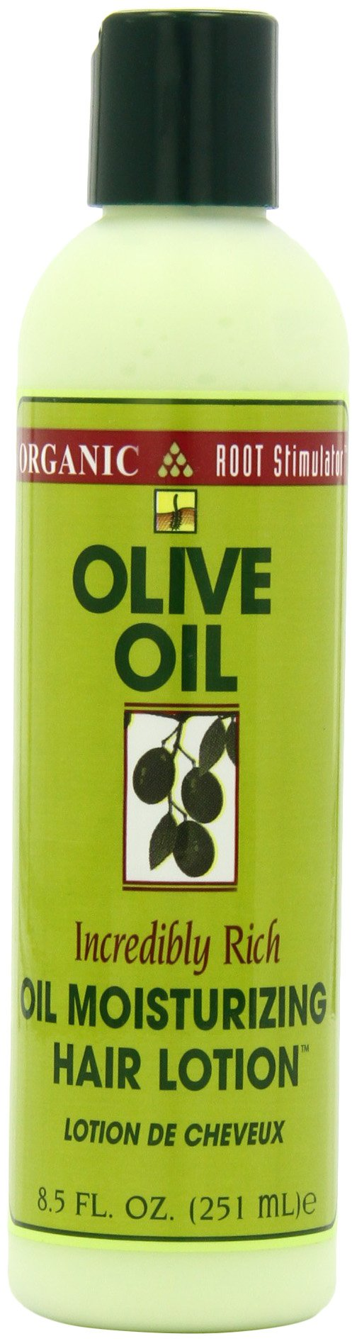 Organic Root Stimulator Olive Oil Moisturizing Hair Lotion, 8.5 Ounce