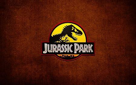 015 Jurassic Park 38x24 inch Silk Poster Seda Cartel Aka ...