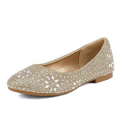 Amazon.com: DREAM PAIRS Nina-100 - Zapatos de ballet ...