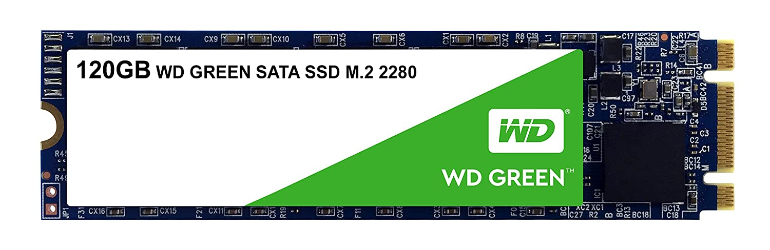 WD Green 120GB e 240GB M.2.