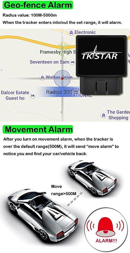 Mini Plug Play OBD GPS Tracker Car GSM OBD 2 periférico de ...