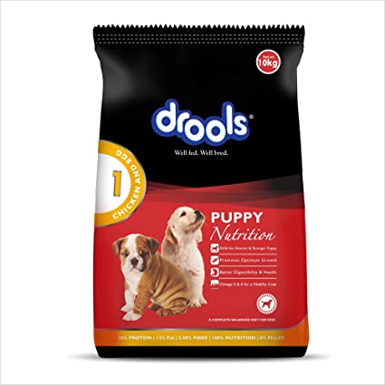 e60642df9218 Buy Drools Chicken and Egg Puppy Dog Food, 10kg Online at Low Prices in  India - Amazon.in