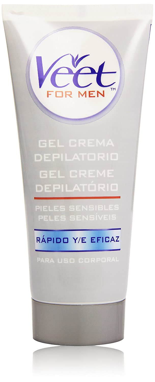 Veet for Men Crema Depilatoria para hombre - Piel Sensible 200 ml Reckitt Benckiser 3029772 Gel