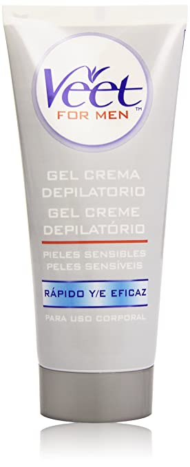 Veet for Men Crema Depilatoria para hombre - Piel Sensible 200 ml