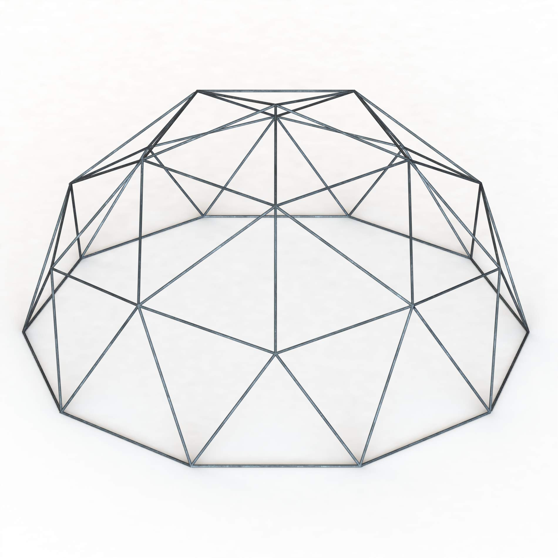 Thunder-Domes 18ft Geodesic Hammock Dome-Greenhouse-Shelter