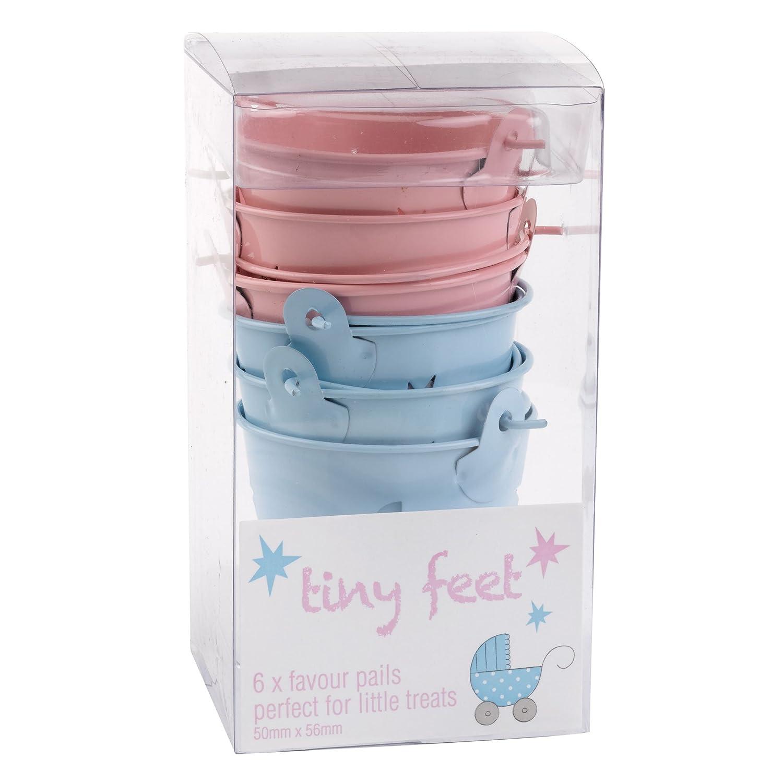 Amazon.es: Neviti 595662 Tiny pies para recuerdos, color rosa/azul: Juguetes y juegos