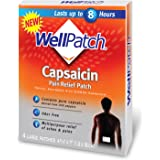 WellPatch Capsaicin Pain Relief Pads, Large, 4-Count Boxes (Pack of 3)