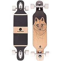 "RollerCoaster ""Wolf"" Longboard – Drop-Through Skateboard zum cruisen"
