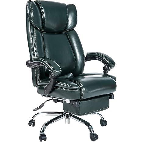 Merax Inno serie ejecutivo silla de respaldo alto, con ajustable Lumbar de pivote y acolchado