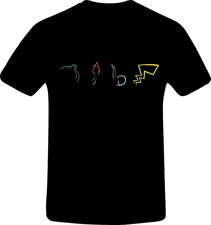 Four pokemon outline, Custom Tshirt