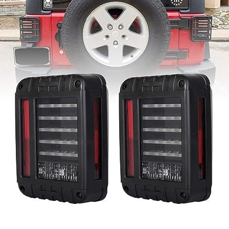 Amazon Liteway LED Tail Lights for 20072016 Jeep Wrangler JK – Jeep Tj Parking Lights Wiring