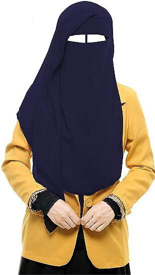 4 Piece Abaya Set Niqab Arab Saudi Long Kaftan Ladies Fancy Dress Costume Burqa