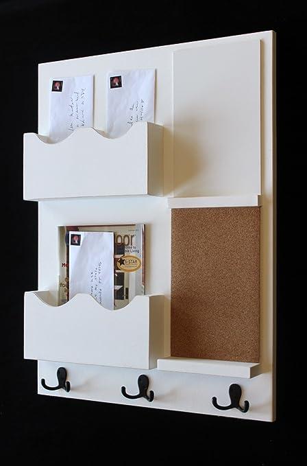 Legacy Studio decormail Organizador de corcho pizarra blanca ...