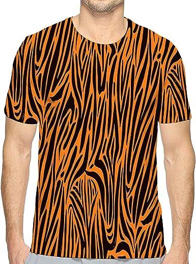 Camiseta de Manga Corta para Hombre Camiseta con Estampado de ...
