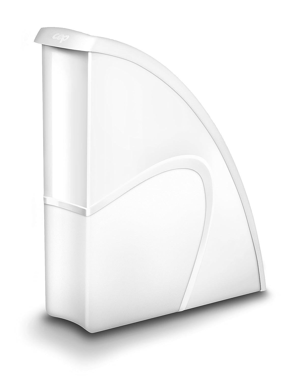 CEP 1006740021 Stehsammler Gloss 674 plus G, polarweiß polarweiß CEP Office Solutions