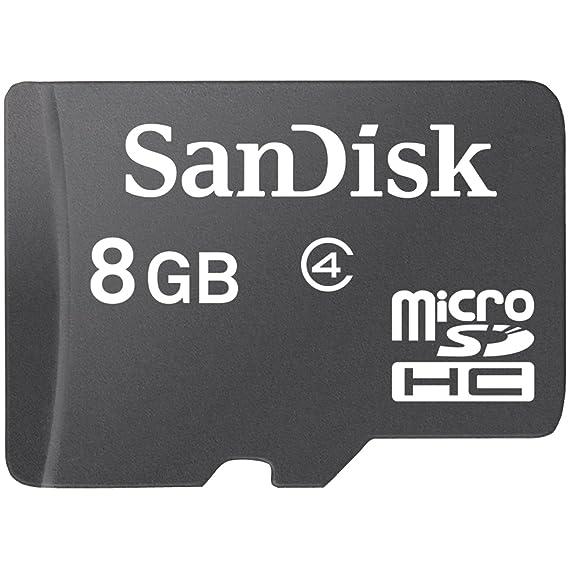 Sandisk SDSDQ-008G-A11M 8GB MicroSDHC memoria flash ...