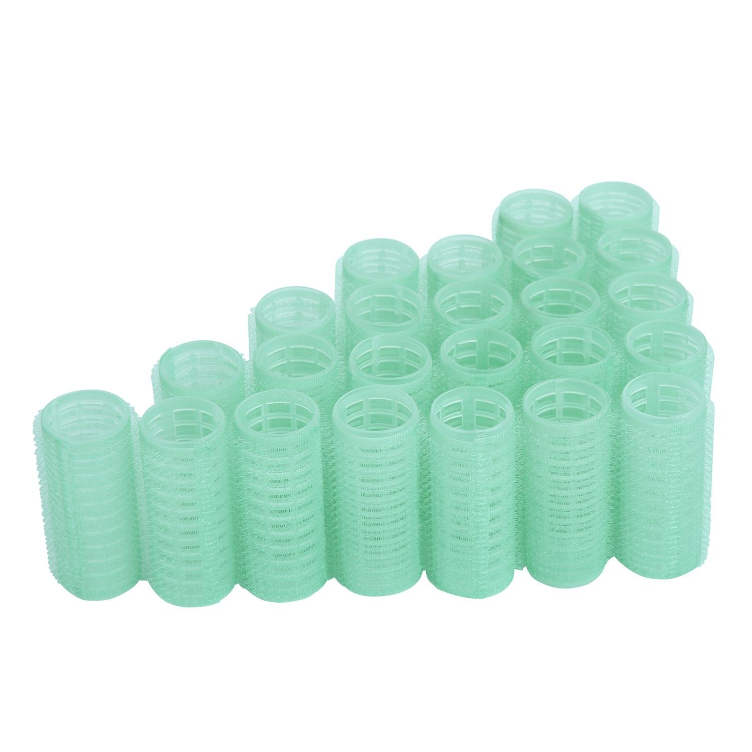 niceEshop(TM) 12pcs X 40mm (1-1/2) Self Grip Hair Rollers Pro Salon Hairdressing Curlers, Random Color