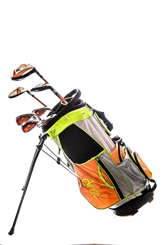 DROC – Noaシリーズ7個セット+ゴルフクラブゴルフバッグ年齢6 – 10右利き   B00RM53L8O