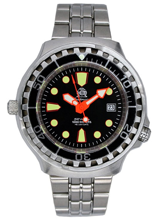 トーチマイスター1937 腕時計 100ATM 自動巻 ダイバー ヘリウムリリースバルブ T0079M 並行輸入品 B00V5Z76O2