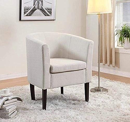 Home Life Armen Linon Ivory Beige Sofa Arm Club Chairs Linen Finish