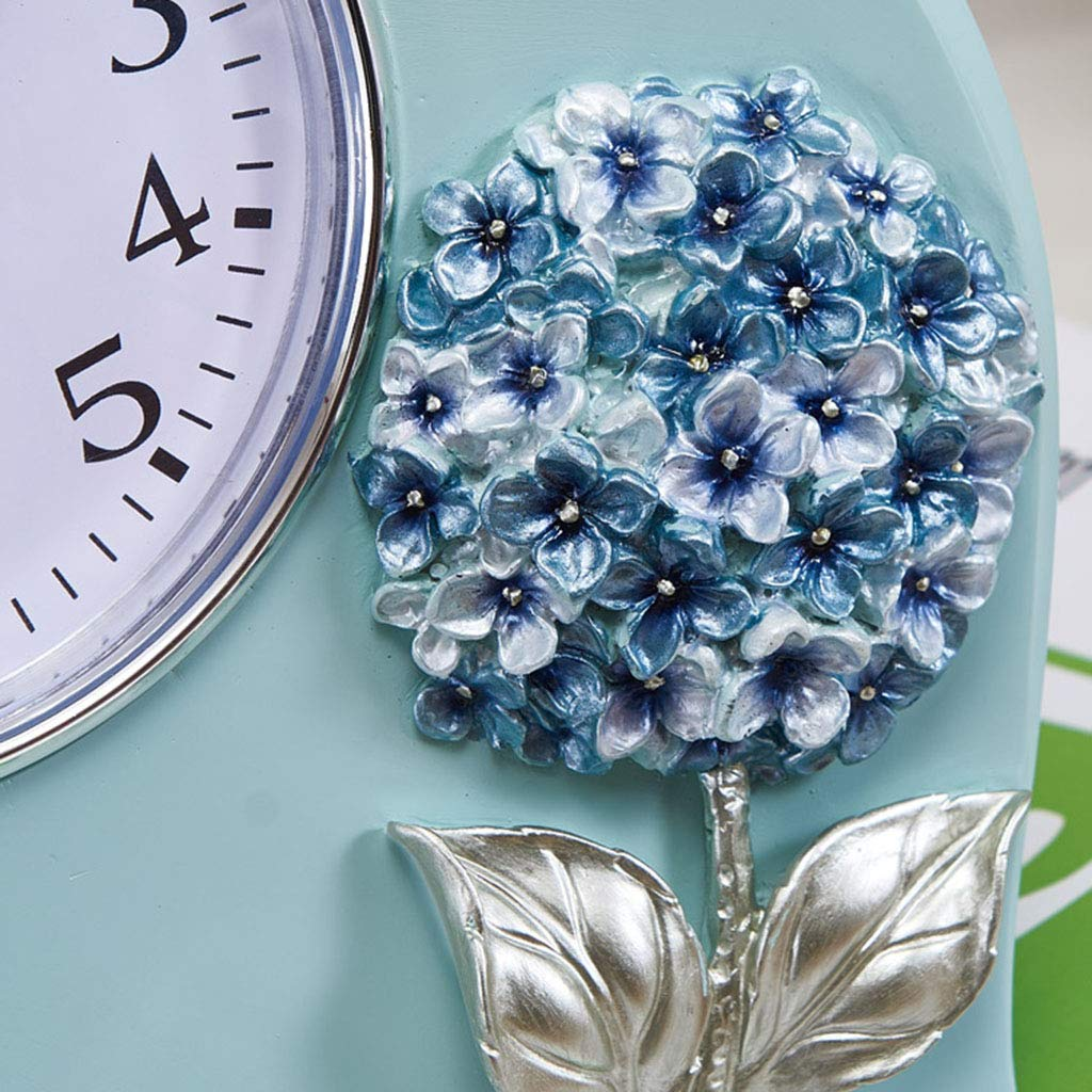 Amazon.com : Family Fireplace Clocks Desktop Clock Mute Resin Clock for Living Room Style Decoration Farm Bedroom ó n Craft Suitable for Living Room Office ...