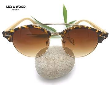 ⭐️LUX & WOOD Paris⭐ Gafas de sol - Diseño Vintage -Polarizadas -