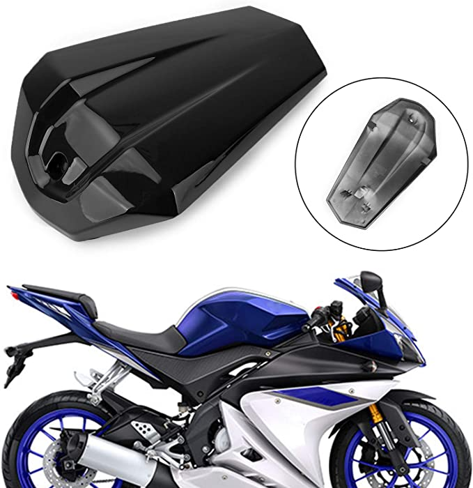 Passenger Rear Pillion Seat Cover Solo Cowl Blue For 2014-2016 YAMAHA YZF R125