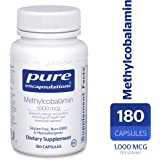 Pure Encapsulations - Methylcobalamin - Advanced Vitamin B12 for a Healthy Nervous System* - 180 Capsules