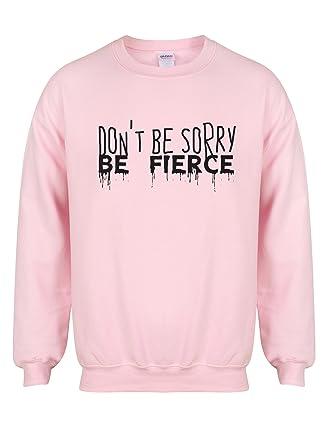 286c6b30c91 Amazon.com: Kelham Print Unisex Slogan Sweater Jumper Don't Be Sorry ...