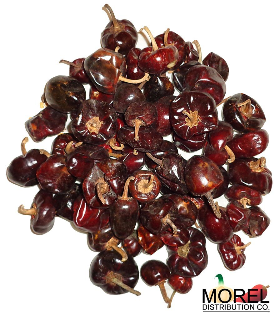 Dried Cascabel Chili Pepper (Chile Cascabel) Bulk Weights: 2 Lbs, 5 Lbs, and 10 Lbs!! (2 LBS) by Morel Distribution Company (Image #1)