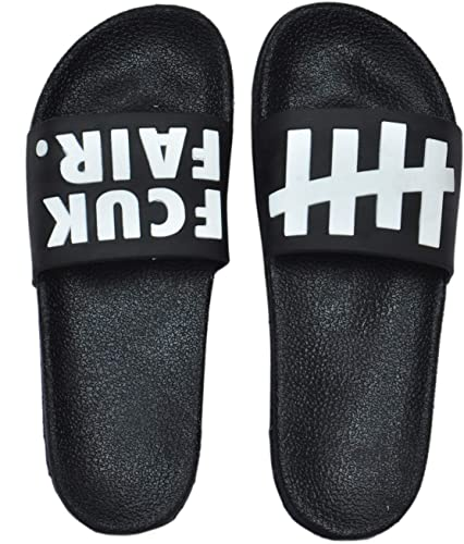 aae901987 Golazo Slide Flip Flop Men Fcuk-White-42  Buy Online at Low Prices in India  - Amazon.in