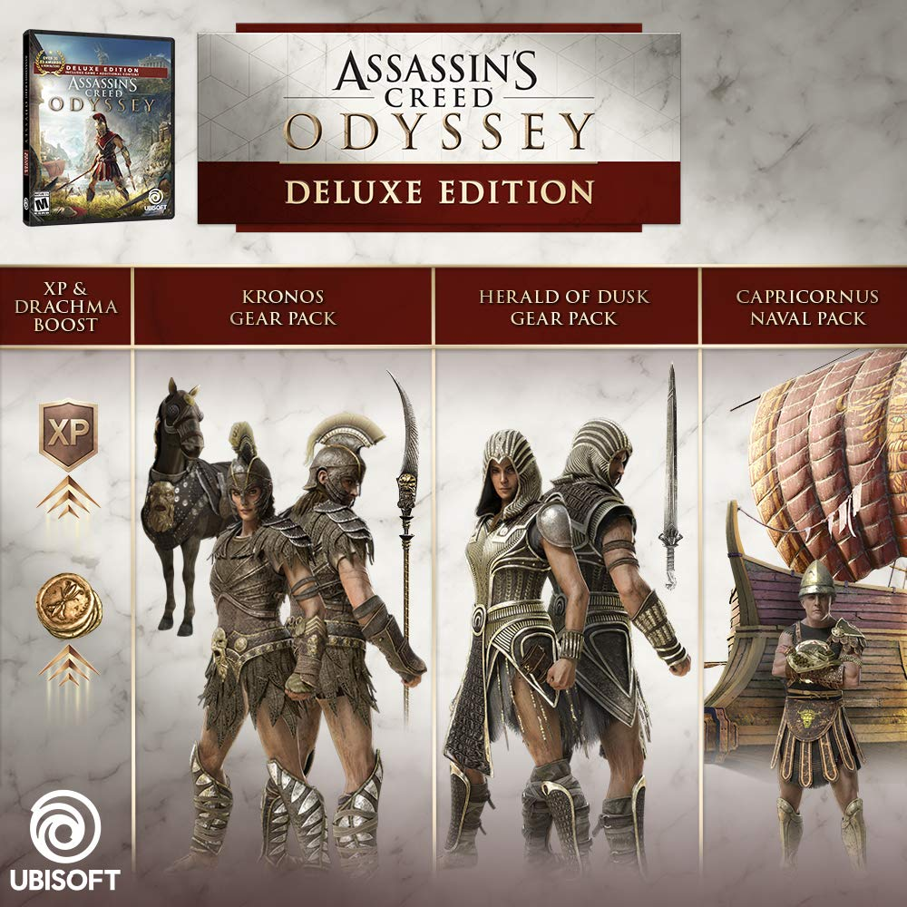 Assassins Creed Odyssey Deluxe Edition for Xbox One USA: Amazon.es: Ubisoft: Cine y Series TV