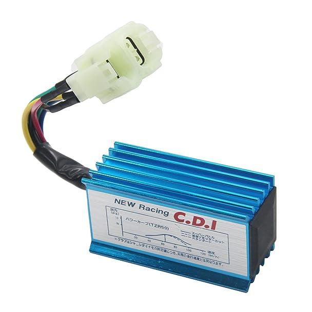 Amazon.com: JOYII High Performance Racing Ignition Coil + CDI AC GY6 ...