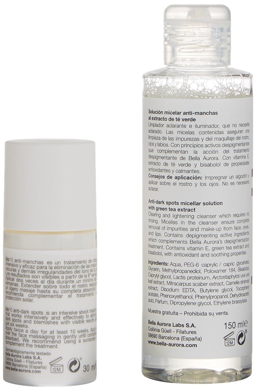 Bella Aurora Bio-10 Antimanchas Pieles Mixtas o Grasas Serum + Solución Micelar - 1 Pack: Amazon.es: Belleza