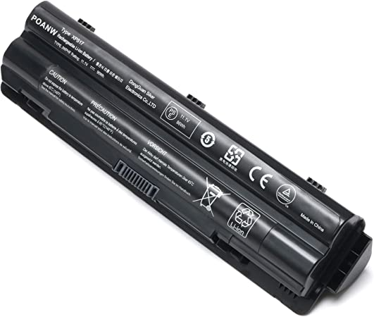 11.1V 90WH -12 Months Warranty New R795x XPS L702x L502x L501x Laptop Battery Compatible with Dell XPS 17 L701x XPS 14 L401X,fit 312-1123 312-1127 453-10186 J70W7 JWPHF WHXY3