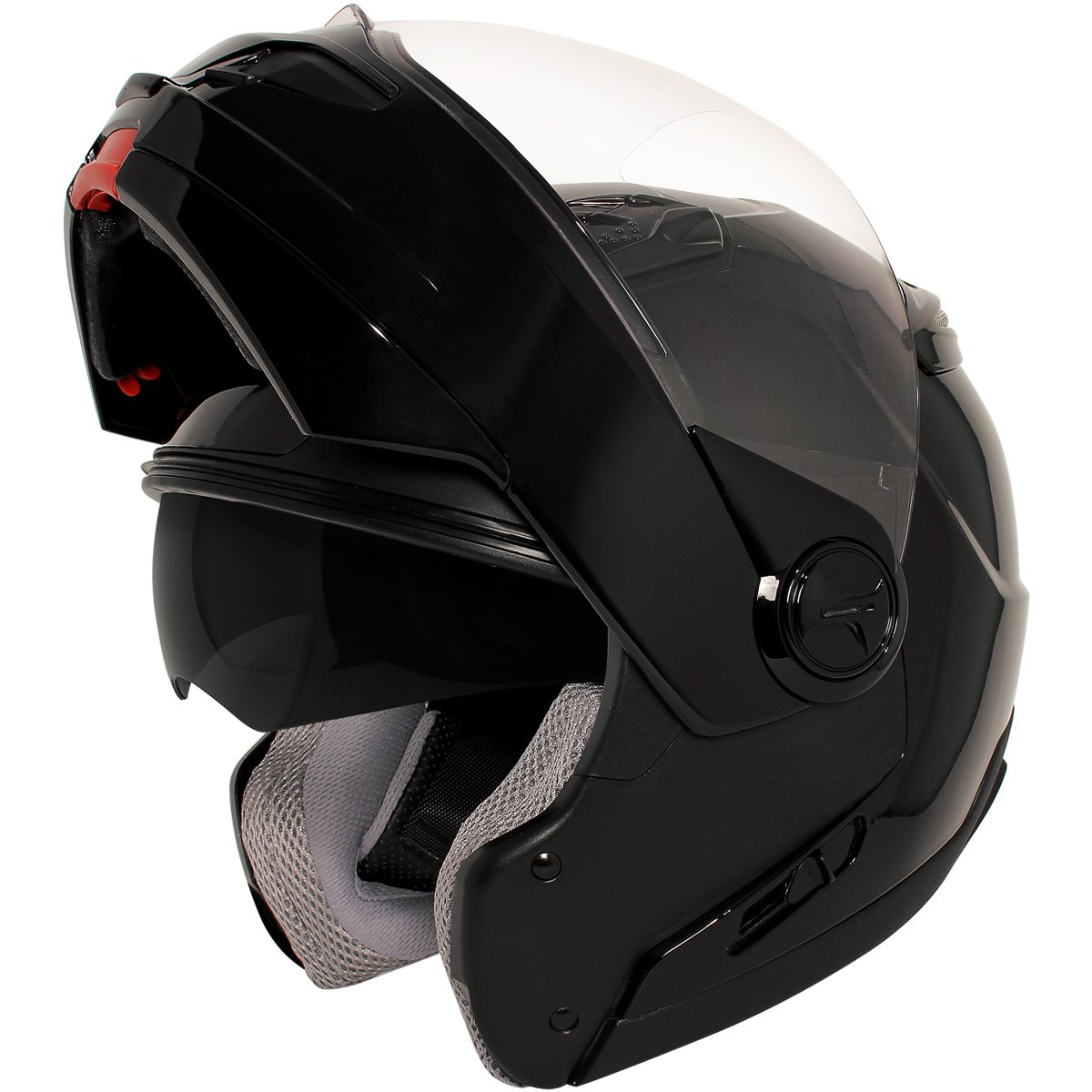 9ae22b69 Amazon.com: Hawk ST-1198 Transition 2 in 1 Black Modular Helmet - Large:  Automotive